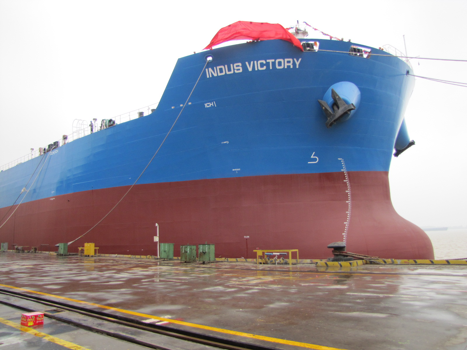 Indus Victory joins our fleet as the fourth ship.