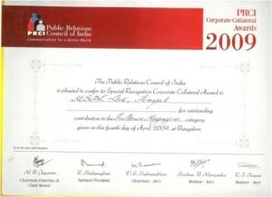 Chanakya Award-2009